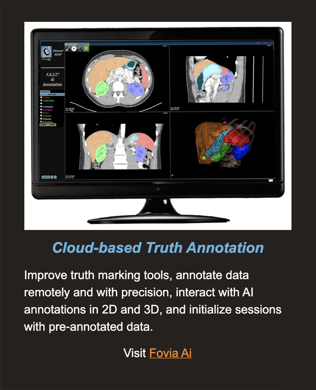 Cloud Based Truth Annotation